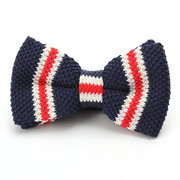 Men's Bowknot Knit Adjustable Neckwear Bow Tie Tuxedo Bow Tie