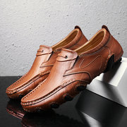 Men Stylish Wearable Slip On Driving Loafers Casaul Leather Shoes