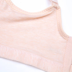 Solid Cotton Comfy Wireless Front Button Brest Feeding Maternity Nursing Bra