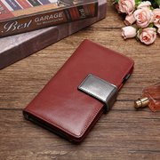 Women PU Leather Soft 15 Card Slot Long Wallet Multi-function Phone Purse