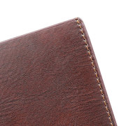 Genuine Leather Retro 5 Card Slot High Capacity Wallet Casual Money Clip For Men