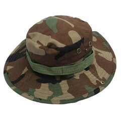 Men Women Camouflage Camping Mountaineering Hunting Cap Military Sunshade Boonie Hat