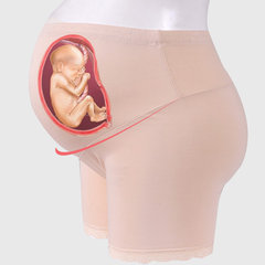 Pregnant Women Safety Pants High Waist Maternity Panties