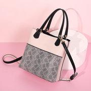 Women Soft Leather Handbag Multifunction Lizard Pattern Crossbody Bag