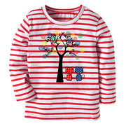 Tree Printed Girls Sweatshirt Clothes Kids Tops Outerwear Clothes