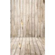 Hintergrund in 5x7Fuß mit Holzboden