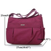 Nylon Casual Lightweight Crossbody Bag Shoulder Bags For Women