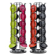 Coffee Capsule Holder Rotating Rack Coffee Capsule Stand Capsules Storage for 24 PCS Dolce Gusto