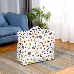 Cotton Linen Quilt Clothing Storage Bag Waterproof Moisture-proof Quilt Moving Bag