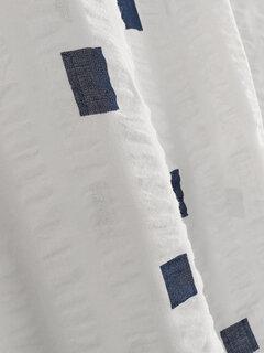 T-shirt casual a maniche corte con stampa geometrica per le donne