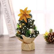 20 см Мини Рождественская елка Цветочный стол Декор Фестиваль Праздничный подарок Орнаменты