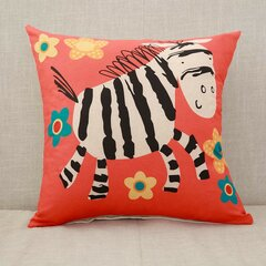 Cute Animal Pattern Cushion Cover Squre Sofa Bed Pillowcase Car Home Deco Cushion
