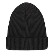 Men Women Solid Color Knitted Beanies Caps Outdoos Sport Rolled Cuff Brimless Hat