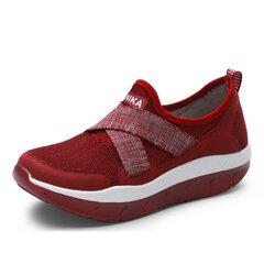 Упругая лента скольжения на платформе Rocker Sole Удобная сетчатая обувь