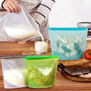 Wiederverwendbare Silikon-Vakuum-Nahrung Frische Beutel-Verpackungs-Kühlraum-Nahrungsmittelaufbewahrungsbehälter-Kühlraum-Beutel