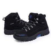 Sneakers imperméables d'escalade de randonnée antidérapante extérieures d'hommes