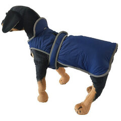 Pet Dog Waterproof Reflective Fleece Lining Vest Coat Puppy Winter Warm Clothes