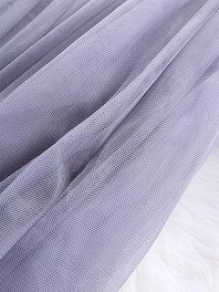 Elegante reine Farbe Blätterteig Rock Gaze Röcke für Frauen