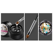 Set di decorazione unghie Shimmer Nail Diamond strass UV Gel Nail Brush Pen Suit Nail fai da te