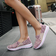 Colorful Knitting Casual Trainers