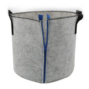 5 Gallon Fabric Aeration Grow Bags Breathable Planter Container Pots with Zipper