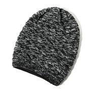 Мужчины Женщины Twill Трикотажные Beanies Hat Повседневная Зима Теплый Теплый Обе Стороны Носят Ботинки Шляпы