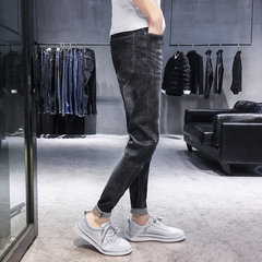New Hole Jeans Slim Slim Feet Hommes Youth Pantalon Stretch Casual Wild Hommes
