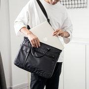 Mulheres Homens À Prova D 'Água de Alta Qualidade Sacos De Armazenamento De Nylon de Negócios de 15 polegadas Sacos de Laptop Sacos de Ombro