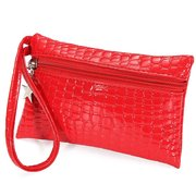 Women Tote ID Card Purse Candy Color Zipper Wallet