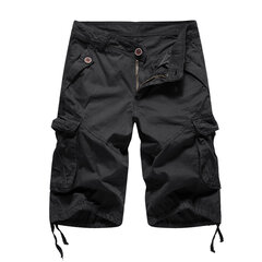 Mens Summer Quick Drying Multi-pockets Outdoor Hiking Tactical Shorts
