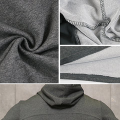 Mens Breathable Fitness Sport Hooded T Shirts Printing Short Sleeve Casual Hoodies
