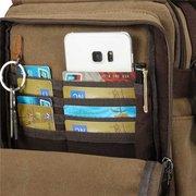 Saco de ombro de mensageiro de bolsa de Crossbody de viagem de lona casual multifuncional