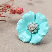 JASSY® Flower Rhinestone Crystal Элегантные серьги