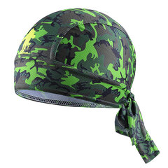 Mens Unisex Outdoor Quick-dry Breathable Bike Cycling Cap Pirate Hood Headscarf  Racing Bicycle Hat