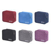 Men And Women Oxford Waterproof Wash Storage Bag Solid Cosmetic Storage Bag