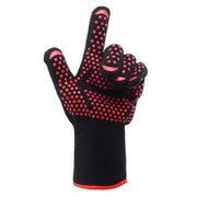 1 pair 500°C Heat Proof Grilling Gloves BBQ Kitchen Cooking Industrial Tools
