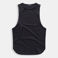 Mens Cotton Tank Tops Breathable Gym Sports Loungewear Tops Undershirt