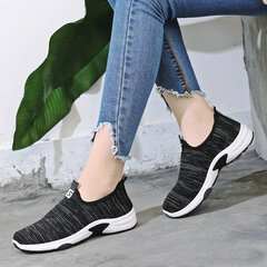 Breathable Mesh Slip On Casual Lazy Flat Shoes
