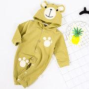 لطيف الحيوان الدب مقنع الرضع طفل بنين بنات بذلة ل 0-24 متر
