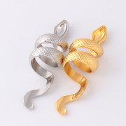 فاسق الفضة لون الذهب ثعبان المفصل خواتم للنساء الأزياء الحيوان زي حزب نساء مجوهرات