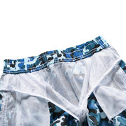 Camouflage Boys Summer Fast Dry Shorts Beach Short Pants For 4-13Y
