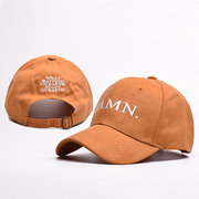 Men Cotton Embroidery Letter Baseball Caps Dad Hat Casual Hip-hop Sunshade Adjustable Caps