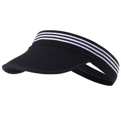 Men Women Empty Top Tennis Hat Breathable Foldable Sports Cap Outdoor Sun Cap