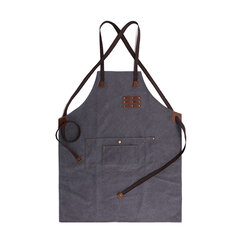 Vintage Waterproof Tool Apron Wear Carpenter Painter Oilproof Canvas Apron For Men And Women