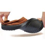 Hommes Tissu Vieux Peking Style Respirant Flat Slip On Casual Shoes