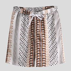 Mens de style ethnique imprimé à séchage rapide moitié Longueur Shorts décontractés en vrac