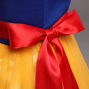Baby Girl Toddler Kids Snow White Cosplay Party Birthday Princess Dresses For 0-8Y