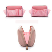 Candy Color Nylon Waterproof Cosmetic Bag Storage Bags