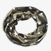 Womens Mens Camouflage Star Ethnic Cotton Beanie Hat Vintage Good Elastic Turban Scarf Caps