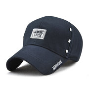 Men Unisex Cotton Sunshade Baseball Caps Outdoor Casual Breathable Snapback Hat Adjustable